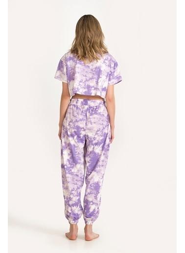 Nbb Pijama Takım Lila